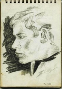 Gordon Frickers Self Portrait, May 1966