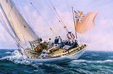 """Velsheda, superyacht, on charter"""