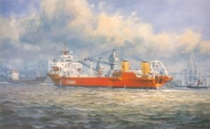 Nexus, British  Telecom Marine cable ship