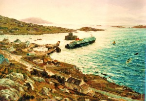 Clansman at Castletown Bay, Barra