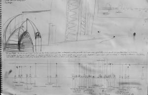 Concept Sketch Trafalgar Dawn French Perspective
