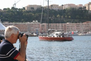 Gordon Frickers at the Monte Carlo Yacht Show