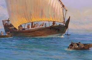 Pearl Fishing, (detail 1)