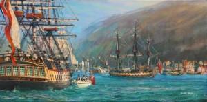 Nelson at Gibraltar