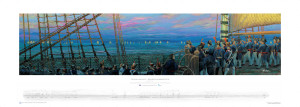 Trafalgar Dawn, the French Perspective, as printed