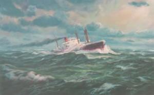 Trun, Liberty ship,