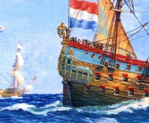 Zevern Provincien, an Admiralty ship