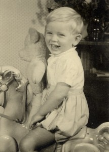 Gordon Frickers age 3