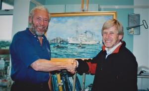 Sir Robin Knox- Johnston & Gordon Frickers