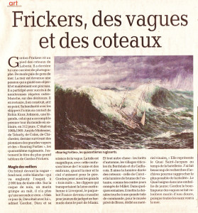 La Depeche GF article du Tarn