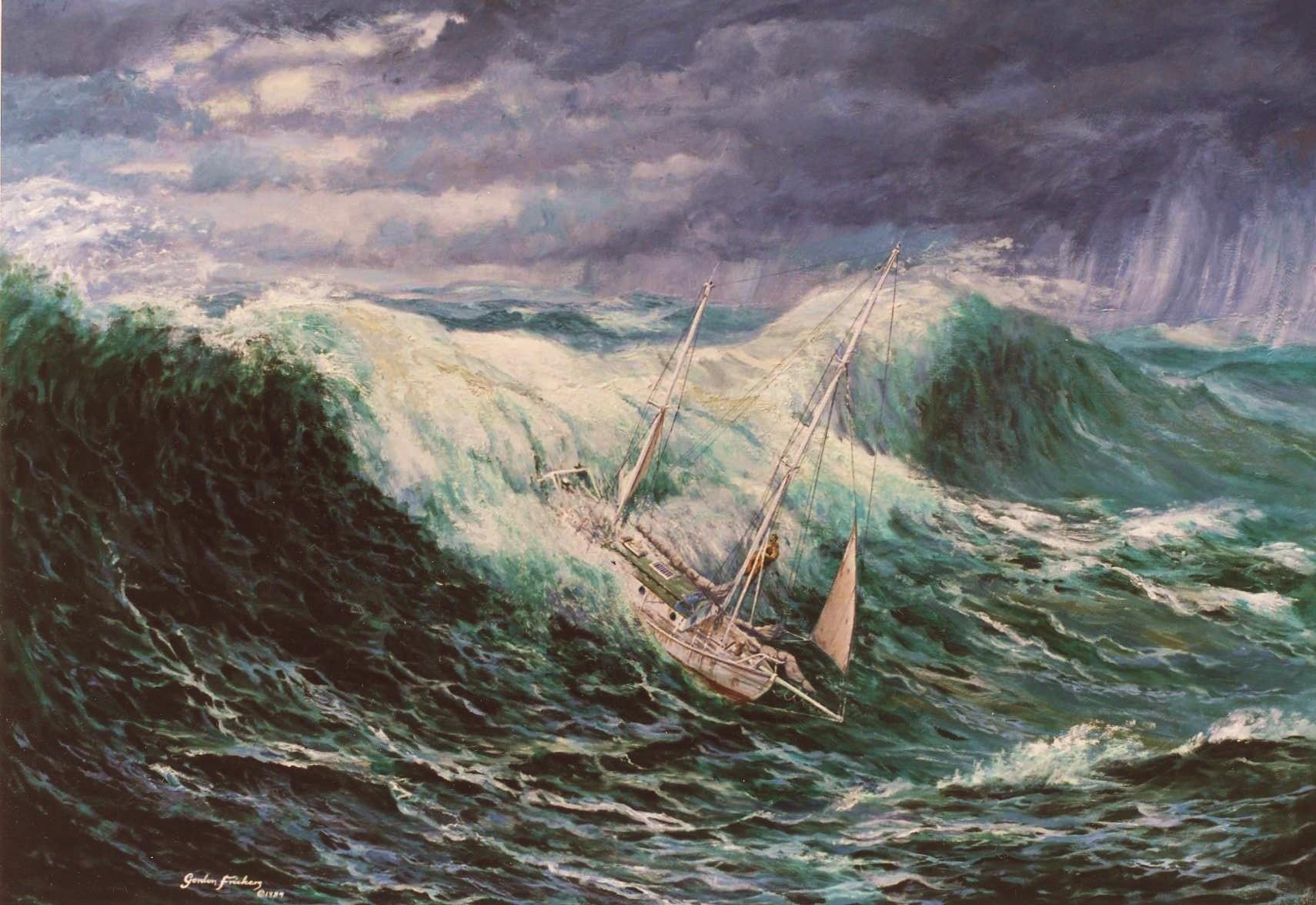 marine art prints artist gordon frickers