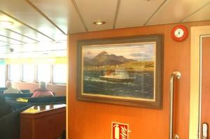 Onboard 'Lochnevis'