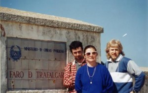 Frickers at Cape Trafalgar with French companions