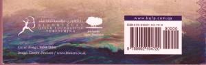 The Corsair, book cover (ISBN detail)