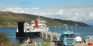 Loch Nevis at the Rum slipway Monday 5th September 2011