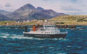 'Loch Nevis' off Muck