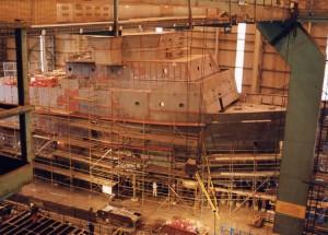 Visit to the ship yard