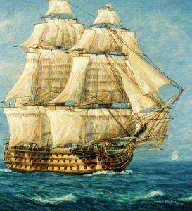HMS Victory, HMS Africa