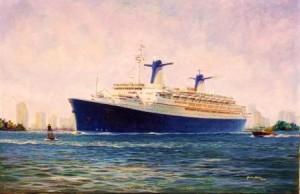 Norway, cruise liner departing Miami
