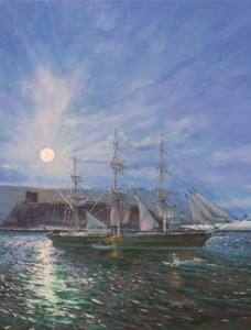 The clipper ship Samuel Plimsoll