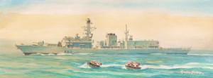 HMS Somerset, anti piracy deployment with Saudi Navy.