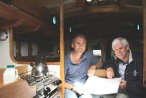 Pete Goss & Gordon Frickers