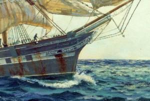 Last Departure, Ferriera ex Cutty Sark, detail