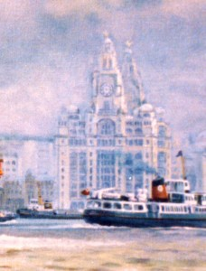 Nexus, detail, the Liver Buildings, Liverpool