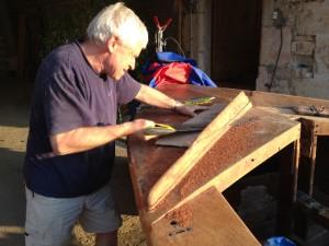 Removing broken washboads