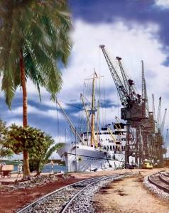 Mombasa port cica 1951