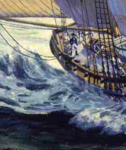 HMS Pickle, detail Lt Lapentiore
