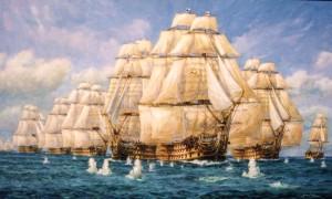 Trafalgar, First Shots