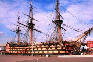 HMS Victory as photographed by Gordon Frickers, 2007