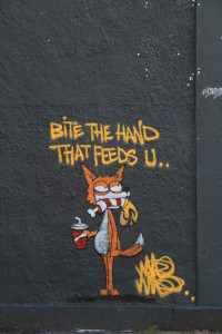 Street art from the home of 'Banksie', Bristol