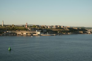 Plymouth Hoe and Citadel