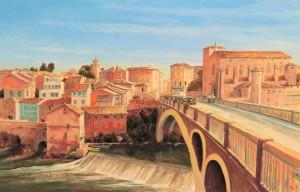 Gaillac, Abbaye, Pont 18.11.16