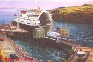 'Hebrides' at Port Tarbert