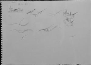 Racehorse sketches (2) 31.03.2017