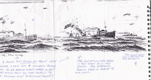 New Westminster City sketch 4