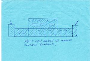 Mr Mills version, Ship bridge 'armour' NWC plan