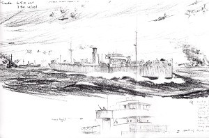 New Westminster City sketch 5