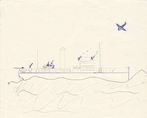 Mr Mills version, Ship NWC arms plan