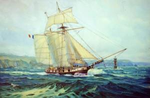 La Recouverance, schooner