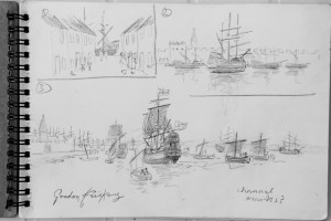 Mayflower concept sketches