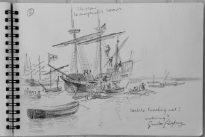 Mayflower concept sketch