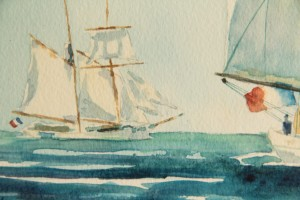Belle Poule et Etoile, detail 1