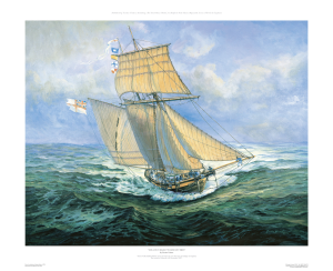 HMS Pickle, 'I have Urgent Dispatches' ~ by Gordon Frickers