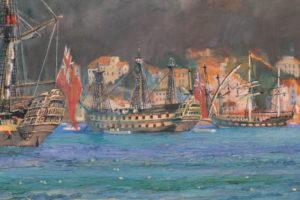 Nelson and Gibraltar
