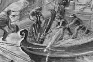 HMS Racehorse, detail