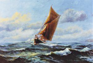 Shearwater, marine art
